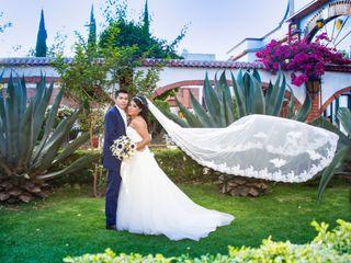 La boda de Angélica y Benjamín