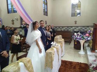 La boda de Answin y Miriam