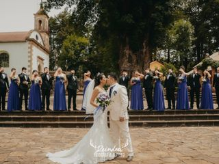 La boda de Samantha y Ares 1