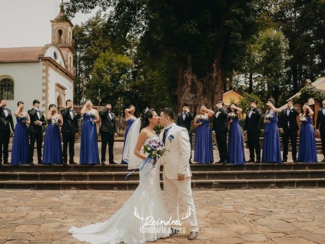 La boda de Ares y Samantha en Omitlán de Juárez, Hidalgo 2