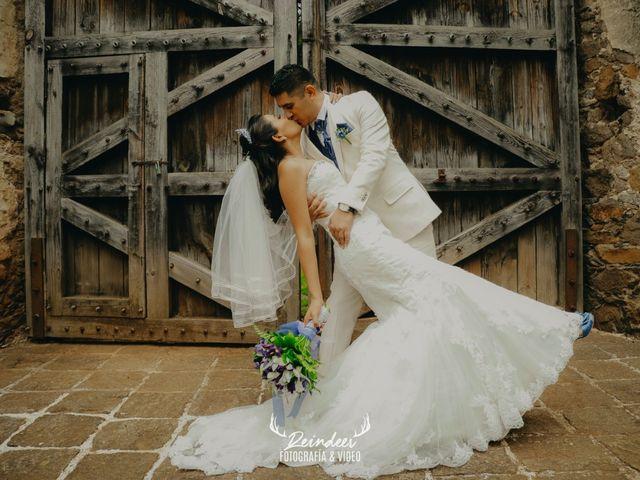 La boda de Samantha y Ares