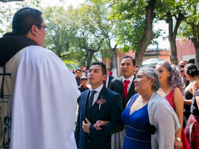La boda de Omar y Marlen en Huamantla, Tlaxcala 55