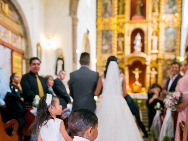 La boda de Omar y Marlen en Huamantla, Tlaxcala 61