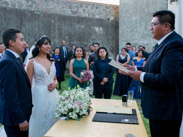 La boda de Omar y Marlen en Huamantla, Tlaxcala 121