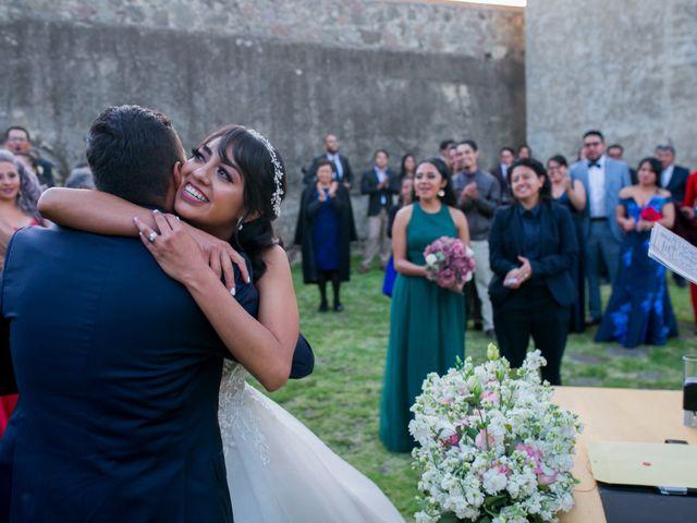 La boda de Omar y Marlen en Huamantla, Tlaxcala 122