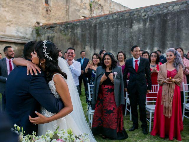La boda de Omar y Marlen en Huamantla, Tlaxcala 123