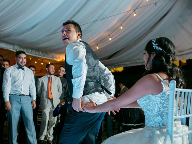 La boda de Omar y Marlen en Huamantla, Tlaxcala 147