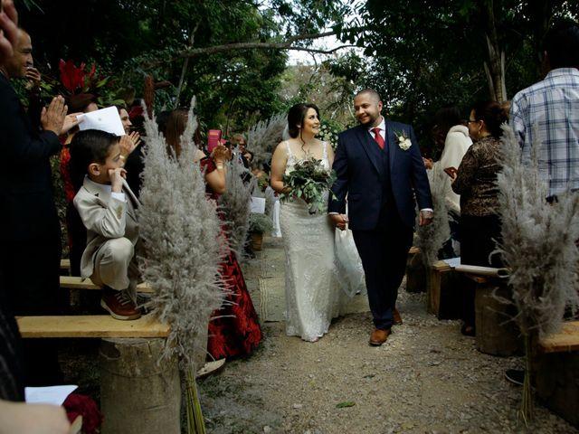 La boda de Karen y James
