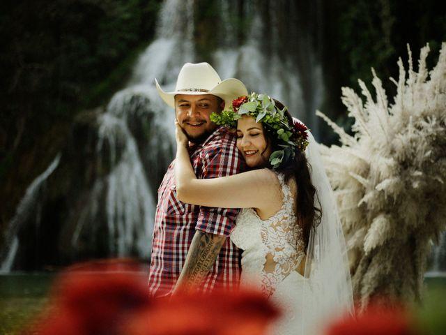 La boda de James y Karen en Tamasopo, San Luis Potosí 33