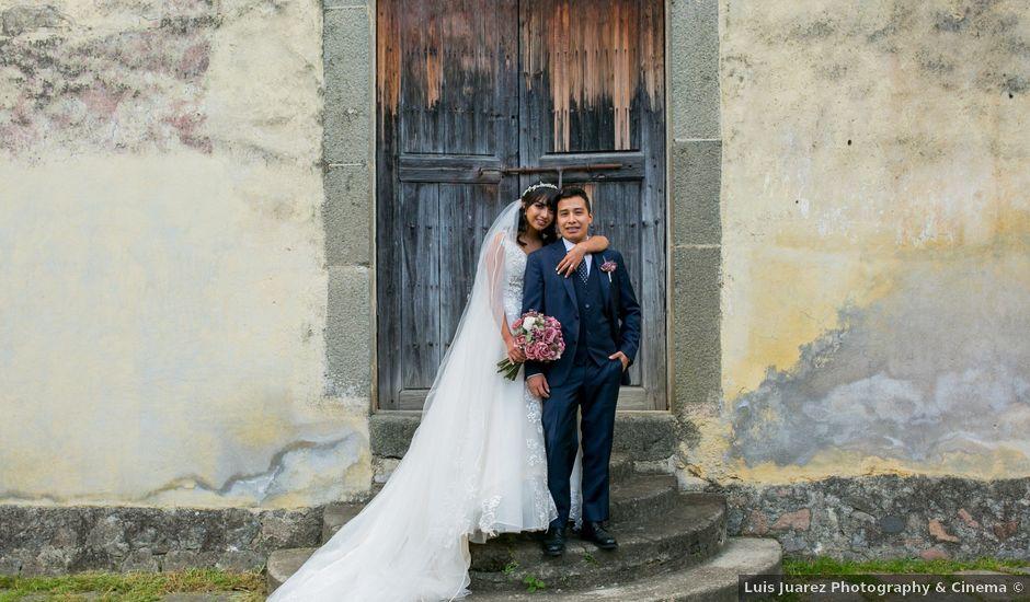 La boda de Omar y Marlen en Huamantla, Tlaxcala