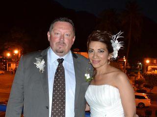 La boda de María del Carmen y Christophe