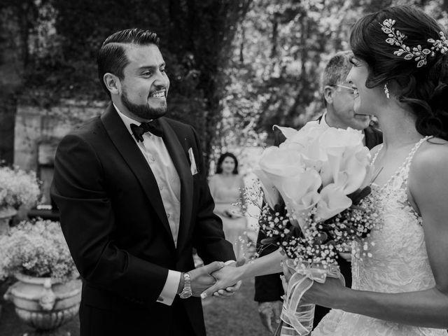 La boda de Claudia  y Adan