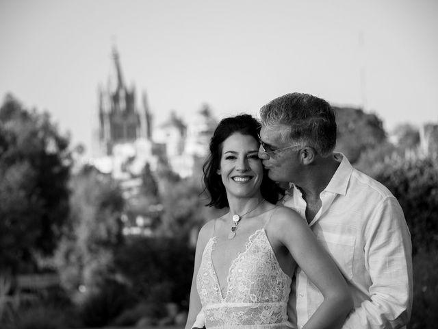 La boda de Donette y Jeff en San Miguel de Allende, Guanajuato 36