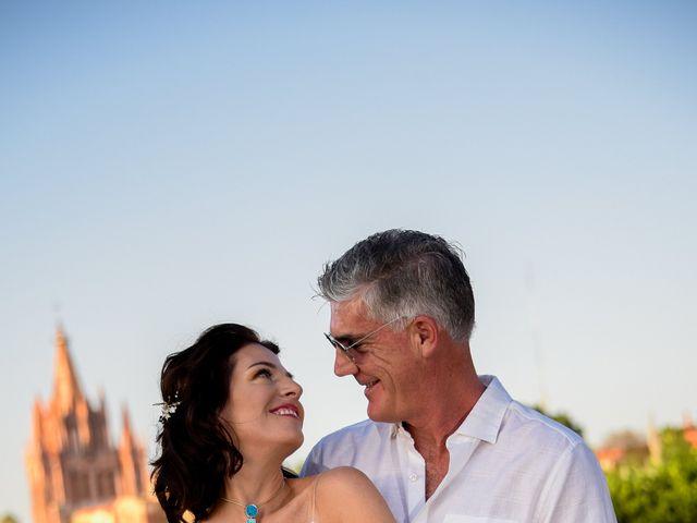 La boda de Donette y Jeff en San Miguel de Allende, Guanajuato 37