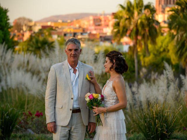 La boda de Donette y Jeff en San Miguel de Allende, Guanajuato 42