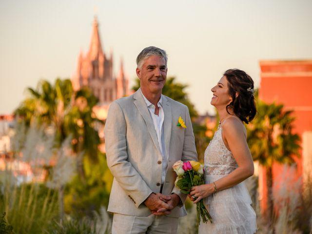 La boda de Donette y Jeff en San Miguel de Allende, Guanajuato 44