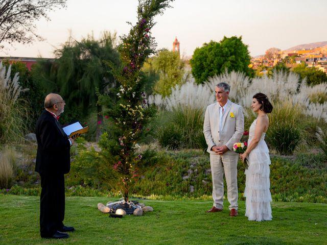 La boda de Donette y Jeff en San Miguel de Allende, Guanajuato 47