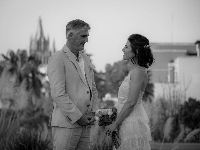 La boda de Donette y Jeff en San Miguel de Allende, Guanajuato 51