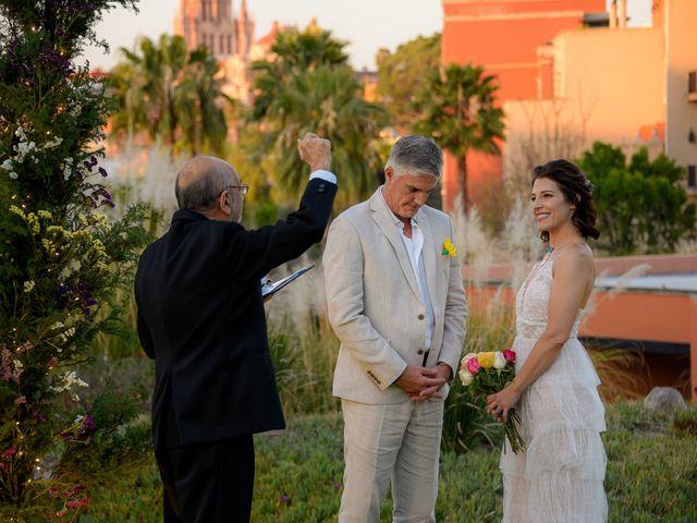 La boda de Donette y Jeff en San Miguel de Allende, Guanajuato 59