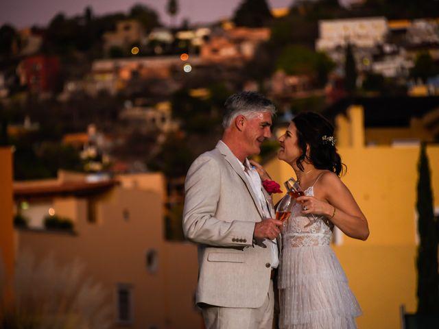 La boda de Donette y Jeff en San Miguel de Allende, Guanajuato 84