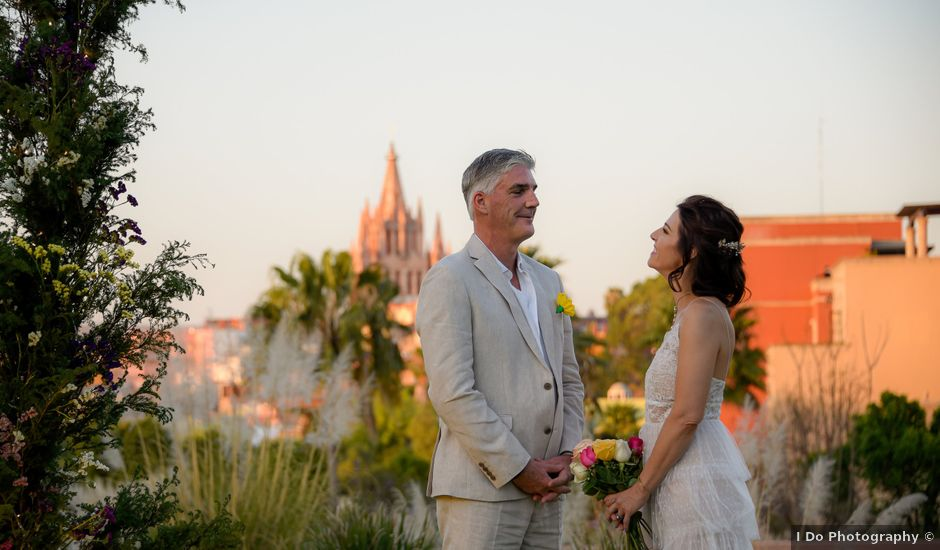 La boda de Donette y Jeff en San Miguel de Allende, Guanajuato