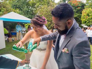 La boda de Viviana  y Víctor