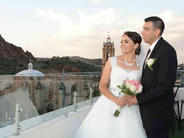 La boda de María y Hugo