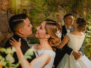 La boda de José y Daffne