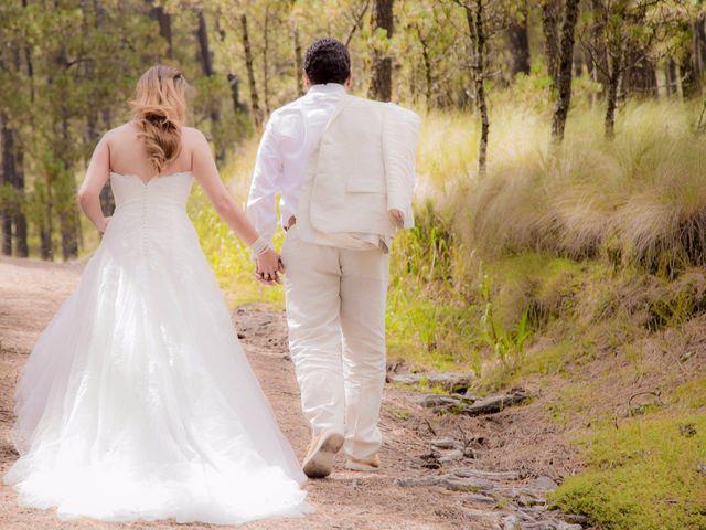 La boda de Alex y Yaya en Amecameca, Estado México 2
