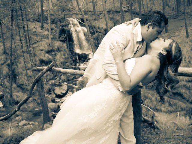 La boda de Alex y Yaya en Amecameca, Estado México 8