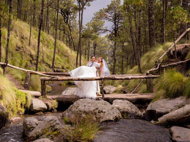 La boda de Alex y Yaya en Amecameca, Estado México 13
