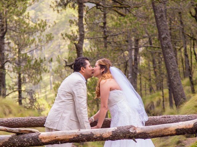 La boda de Alex y Yaya en Amecameca, Estado México 16