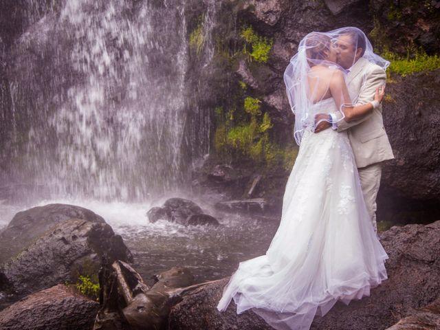La boda de Alex y Yaya en Amecameca, Estado México 17
