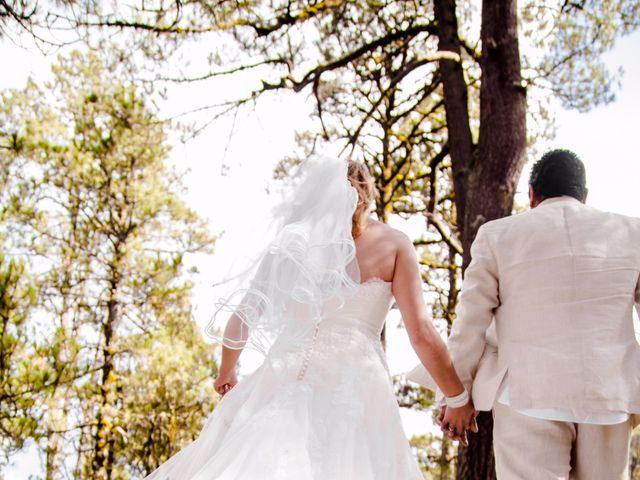 La boda de Alex y Yaya en Amecameca, Estado México 19
