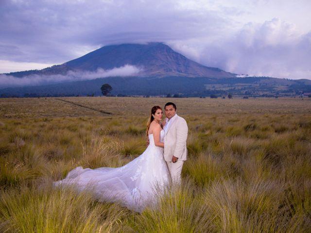 La boda de Alex y Yaya en Amecameca, Estado México 22
