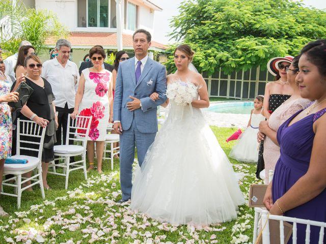 La boda de Alex y Yaya en Amecameca, Estado México 24