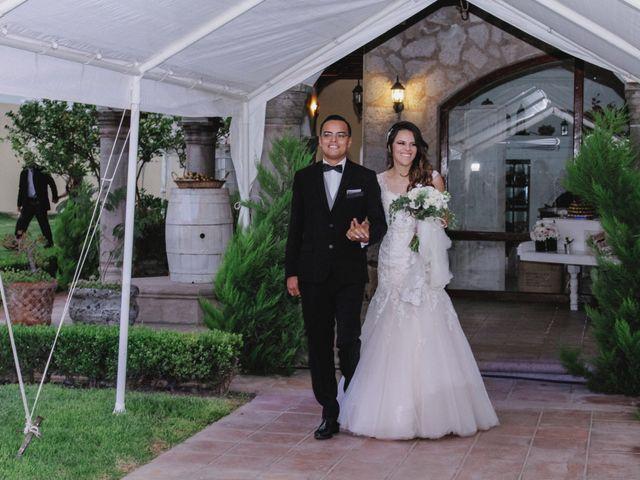 La boda de Leslie y Javier