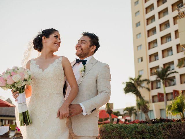 La boda de Getzy y Javier