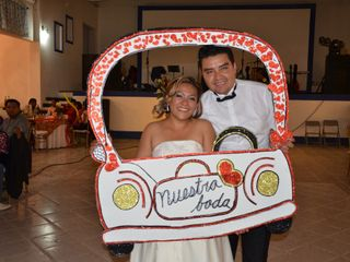 La boda de Gladis y Eduardo