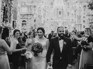 La boda de Dánae y Emmanuel