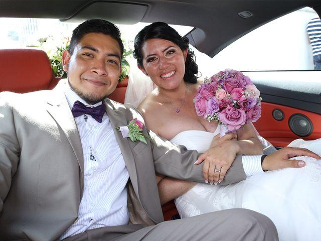 La boda de Leslie y Marco