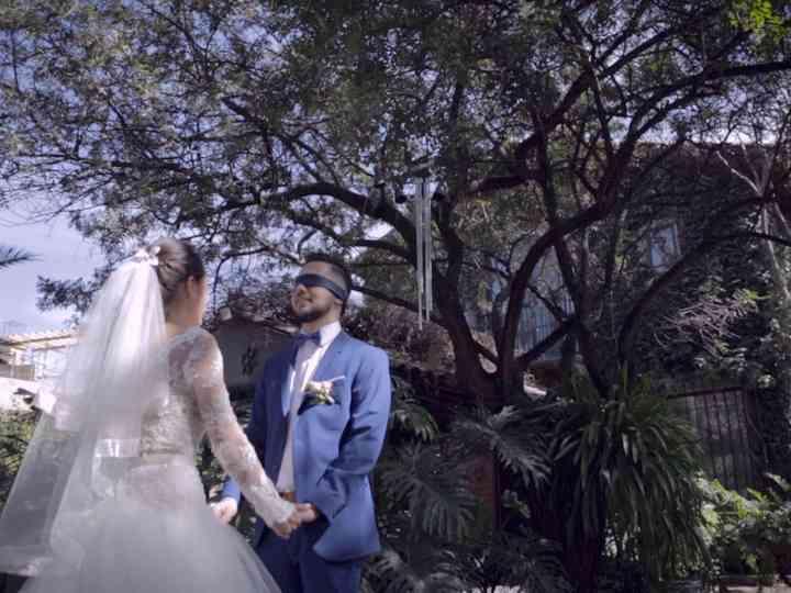 La boda de Melanie y Ismael