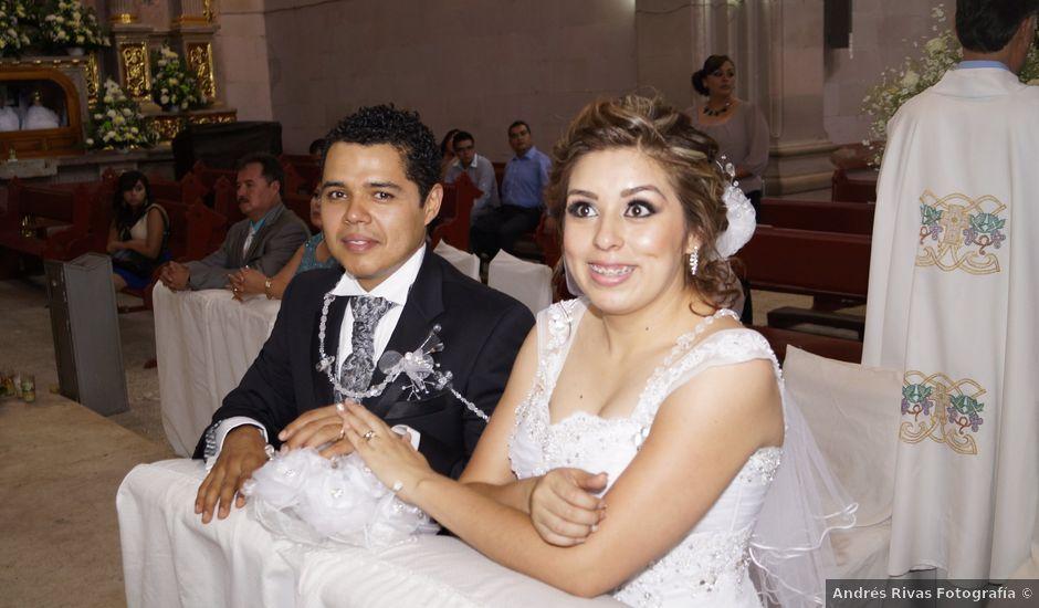 La boda de Alex y Iliana en Tlaltenango de Sánchez Román, Zacatecas