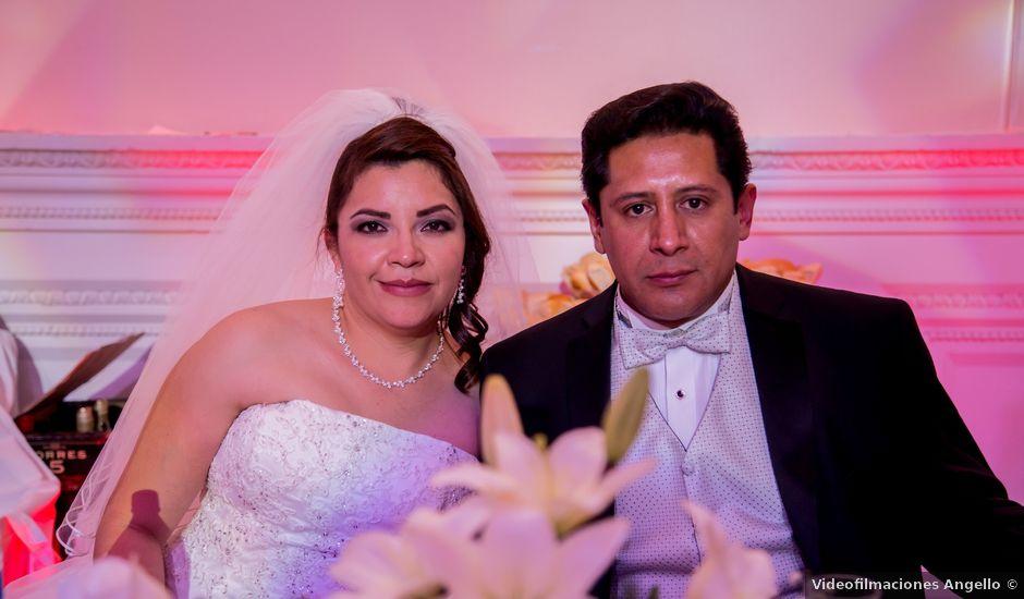La boda de Ángel y Silvia en Ecatepec, Estado México