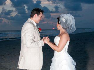 La boda de Cossette y Jesús