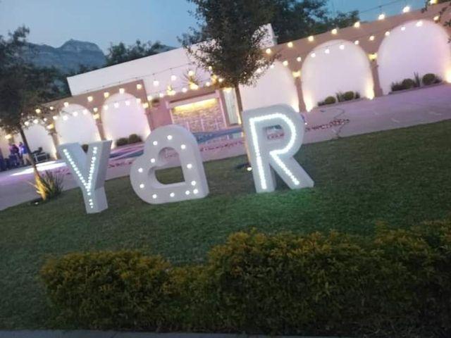 La boda de Ricardo  y Yazmin Abigail  en Santa Catarina, Nuevo León 8