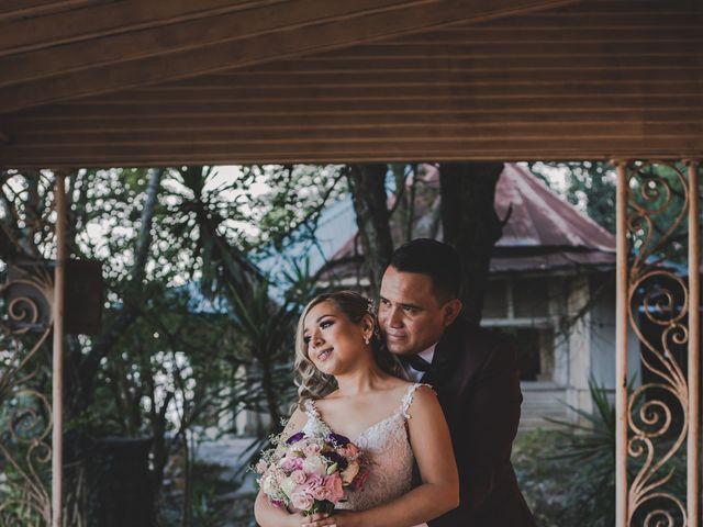 La boda de Ricardo  y Yazmin Abigail  en Santa Catarina, Nuevo León 12
