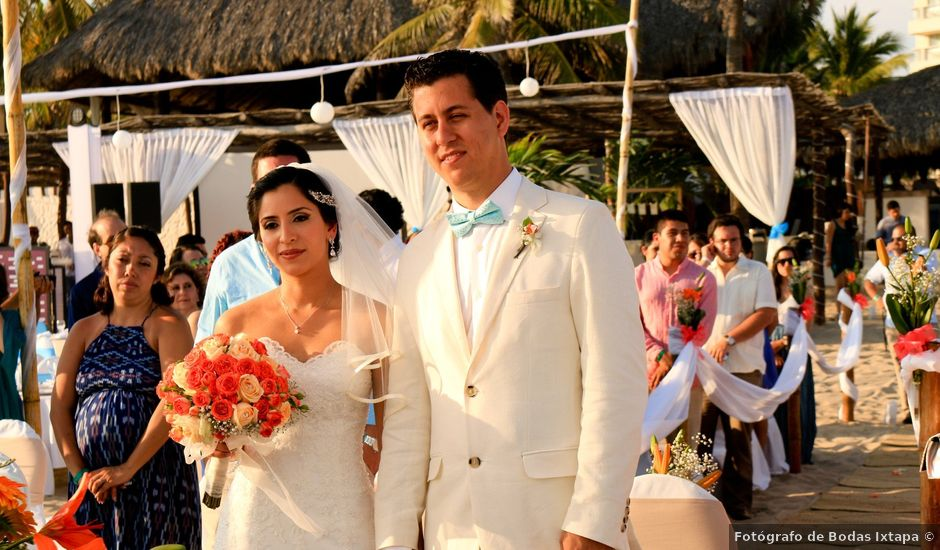 La boda de David y Laura en Ixtapa Zihuatanejo, Guerrero