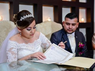 La boda de Abigail y Mario