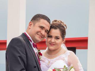 La boda de Itzel y Eder